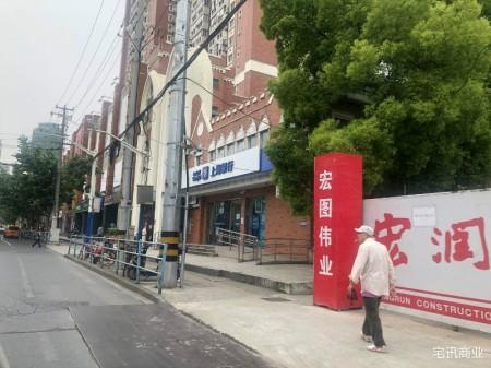 普陀曹杨板块,四线环绕中心小区配套商铺,接受重餐业态不受限