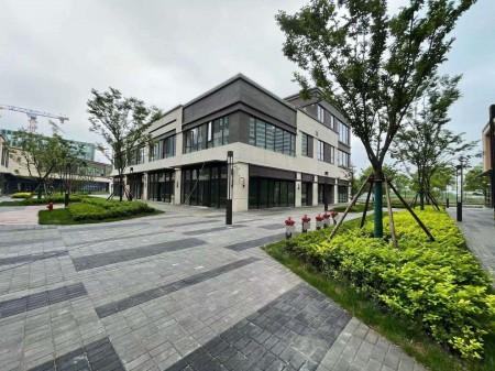 青浦区朱家角古镇首创禧悦翠庭沿街底商出售 13栋独栋商铺 可以做餐饮的