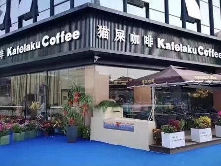 闵行区虹桥镇紫乐路8号 猫屎咖啡沿街门面房出租 开发商保留
