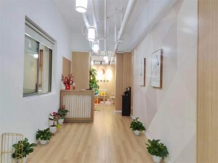 静安区汉中路恒通路357号现代交通大厦,高区独立卫生间瑜伽馆承租,可办公