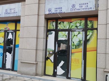 上海松江大学城住宅底商,双开门,临街旺铺出售